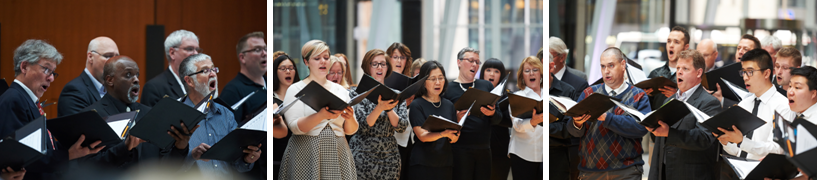 TMC choristers. Photos by Brian Summers