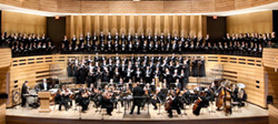 Toronto Mendelssohn Choir and Festival Orchestra perform in Koerner Hall Photo credit: Frank Nagy