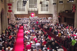 Here We Come A-Caroling: Choirs and carols across the region