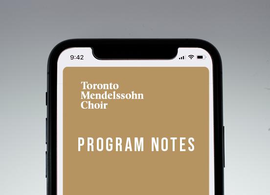 TMC Program Notes