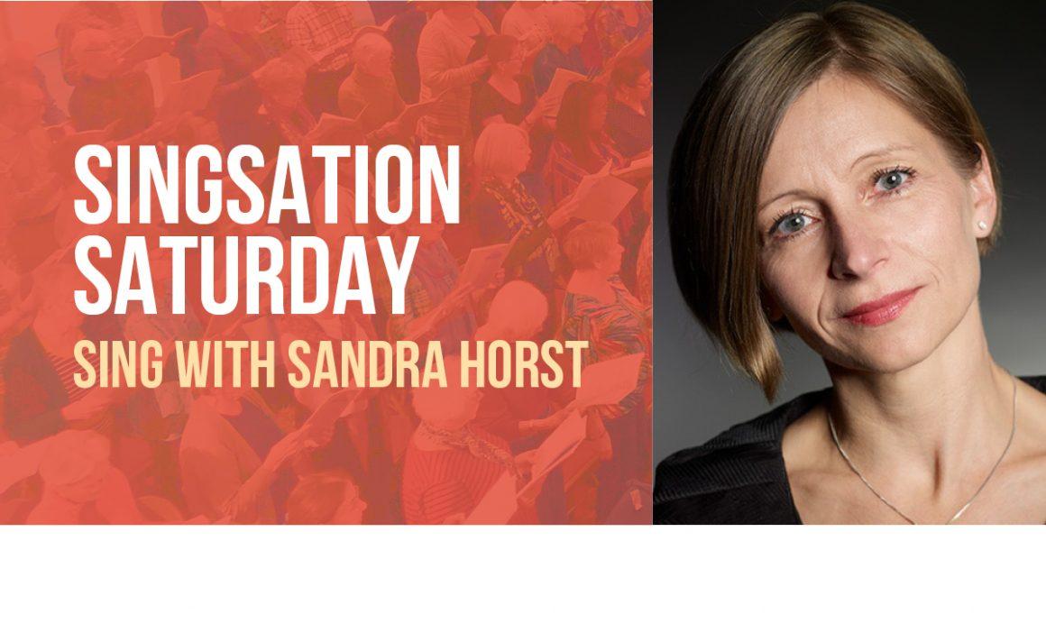 Singsation Saturday with Sandra Horst