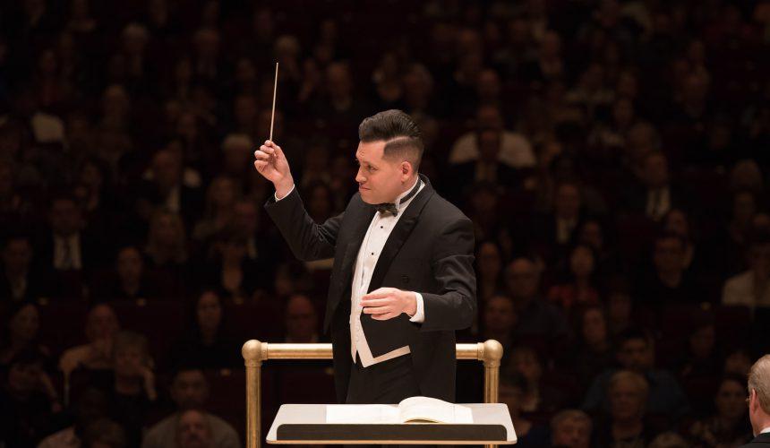 Jean Sebastien Vallee conducting