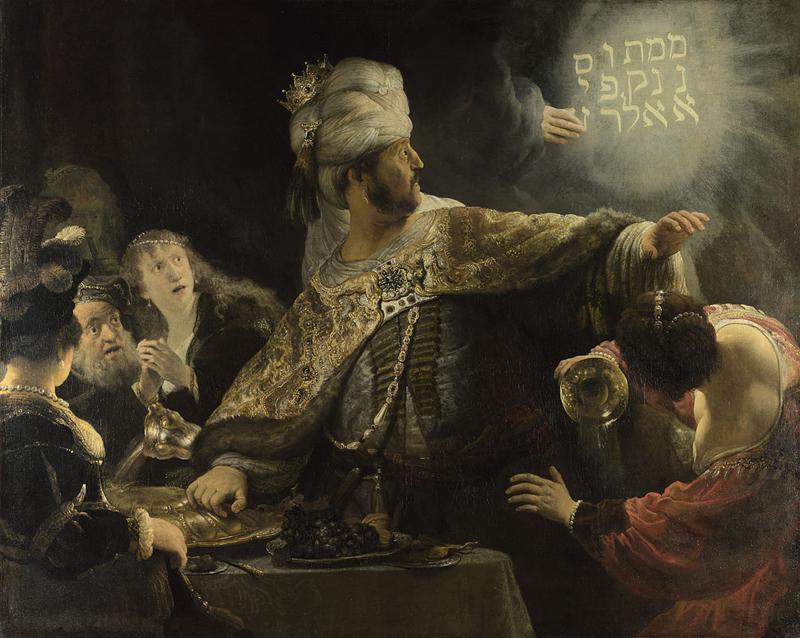 Belshazzar's Feast Program Notes