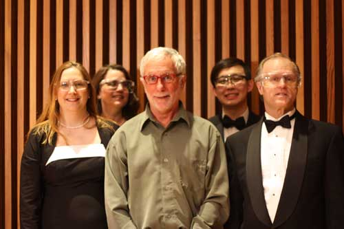 Choristers with Jay Ingram