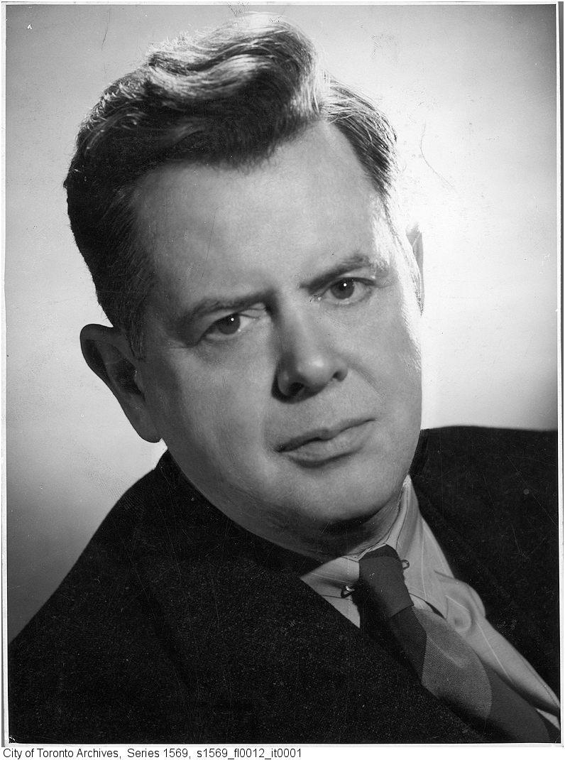 Sir Ernest MacMillan, conductor